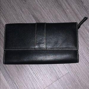 Black Coach Clutch/Wallet